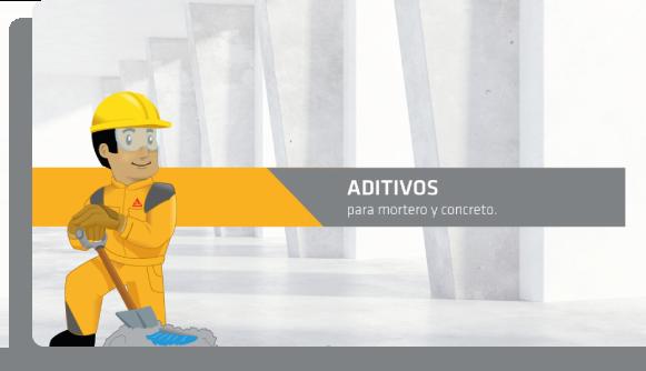 Aditivos para concreto, cemento y mortero Sika